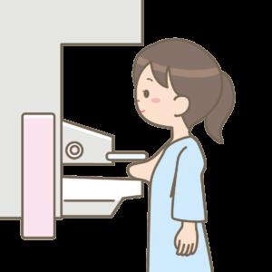 乳がん検診のマンモグラフィー