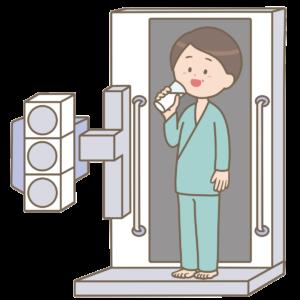 胃がん検診の胃透視検査