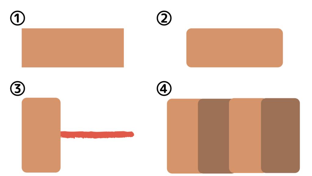 マイクロポアの正しい貼り方